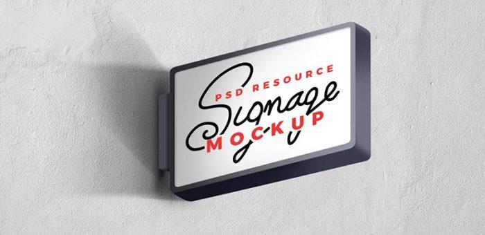 Signage Mockup